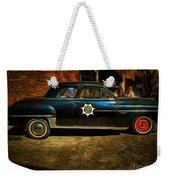 Classic Police Car Weekender Tote Bag