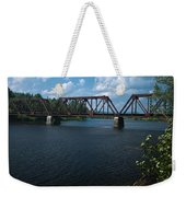 Classic Rail Bridge Weekender Tote Bag
