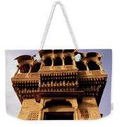 A Rajasthan Haveli Weekender Tote Bag