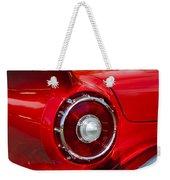 1957 Ford Thunderbird Classic Car  Weekender Tote Bag
