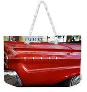 Classic Red Comet Weekender Tote Bag