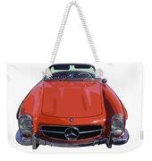 Classic Red Mercedes Benz 300 Sl Convertible Sportscar  Weekender Tote Bag