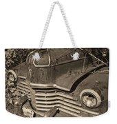 Classic Rust Weekender Tote Bag