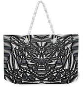 Classic Shine - Silver Weekender Tote Bag
