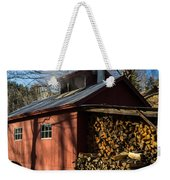 Classic Vermont Maple Sugar Shack Weekender Tote Bag