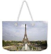 Classic View Of Paris Weekender Tote Bag