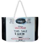 Classic Vintage Gilbarco Phillips 66 Gas Pump Dsc02751 Weekender Tote Bag