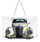 Classic White Mercedes Benz 300  Weekender Tote Bag