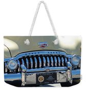 Classic Yellow 49' Buick Eight Weekender Tote Bag
