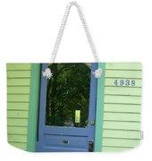 Classy Farmhouse Door Weekender Tote Bag