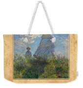 Claude Monet 1 Weekender Tote Bag