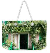 Claude Monets Home Weekender Tote Bag