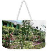 Claude Monets House - Giverney Weekender Tote Bag