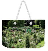 Claude Mounets Green Garden Gate Weekender Tote Bag