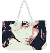 Claudia C Weekender Tote Bag
