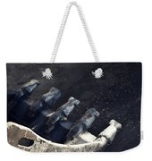 Claw - Industrial Photography By Sharon Cummings Weekender Tote Bag
