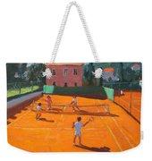 Clay Court Tennis Weekender Tote Bag