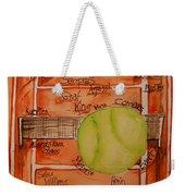 Clay Courters Weekender Tote Bag by Elaine Duras