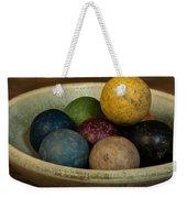 Clay Marbles In Bowl Weekender Tote Bag