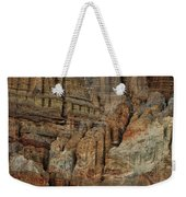 Clay Mountain Formations In Front Weekender Tote Bag