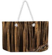 Clay Organ Pipes Formation In Front Weekender Tote Bag
