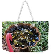 Cleanup In The Garden Weekender Tote Bag