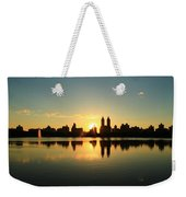 Clear And Smooth Weekender Tote Bag