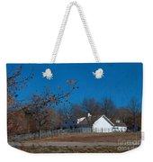 Clear Blue Sky - Oil On Canvas Weekender Tote Bag