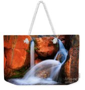 Clear Creek Falls Weekender Tote Bag