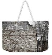 Clear Light Opera House Weekender Tote Bag