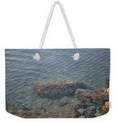 Clear Sea Weekender Tote Bag