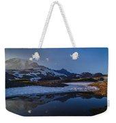 Clear Water Rainier Reflection Weekender Tote Bag