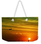 Cleared For Takeoff Weekender Tote Bag
