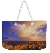 Clearing Storm Cape Royal North Rim Grand Canyon Np Arizona Weekender Tote Bag