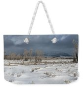 Clearing Storm In The Tetons Weekender Tote Bag
