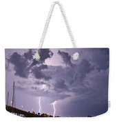 Clearwater Harbor Weekender Tote Bag