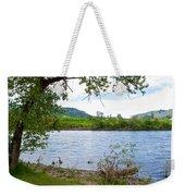 Clearwater River In Nez Perce National Historical Park-id  Weekender Tote Bag