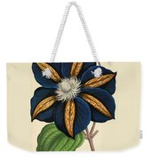 Clematis Star Of India Weekender Tote Bag
