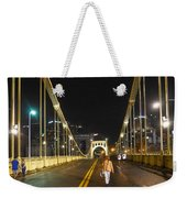 Clemente Bridge Stragglers Weekender Tote Bag