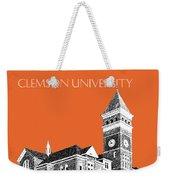 Clemson University - Coral Weekender Tote Bag