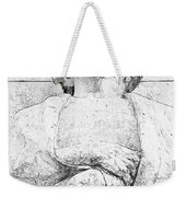 Clenched Hands Weekender Tote Bag