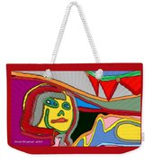 Cleo Waiting Weekender Tote Bag
