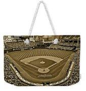 Cleveland Baseball In Sepia Weekender Tote Bag
