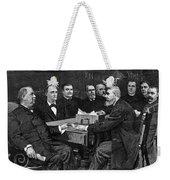 Cleveland Cabinet, 1893 Weekender Tote Bag