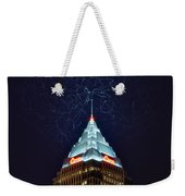 Cleveland Electrified Weekender Tote Bag