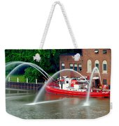 Cleveland Firehouse Weekender Tote Bag