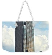 Cleveland Key Bank Building Weekender Tote Bag by Frozen in Time Fine Art Photography