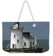 Cleveland Lighthouse Weekender Tote Bag