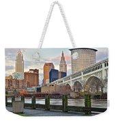 Cleveland Ohio Weekender Tote Bag