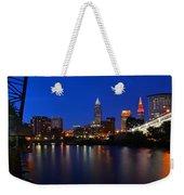 Cleveland Panorama Weekender Tote Bag